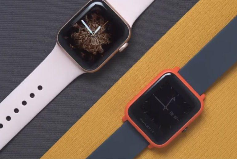 Amazfit Bip и Apple Watch