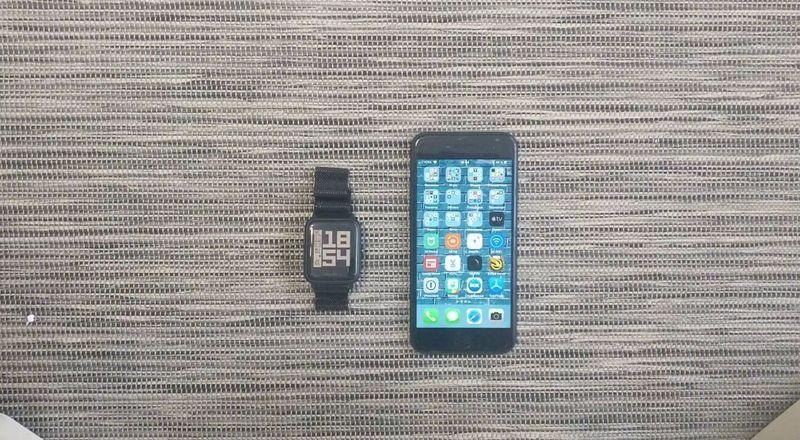 Амазфит Би и iPhone